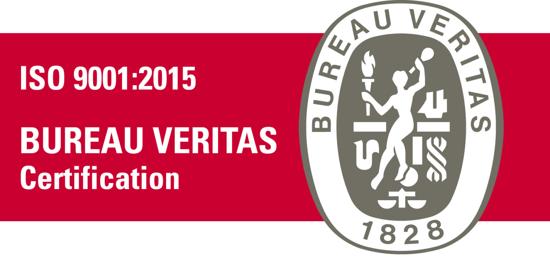 certifié qualité ISO 9001 2015